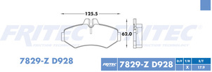 FRITEC SHD-7829-Z-D928