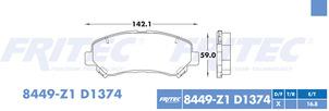 FRITEC SPC-8449-Z1-D1374