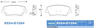 FRITEC SPC-8524-Z-D1284