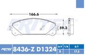 FRITEC SPC-8436-Z-D1324