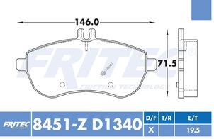 FRITEC SPC-8451-Z-D1340