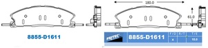 FRITEC SHD-8855-Z-D1611