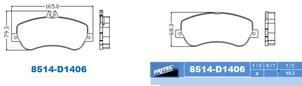 FRITEC SPC-8514-Z-D1406