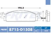 FRITEC SPC-8715-Z-D1508