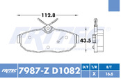 FRITEC SPC-7987-Z-D1082