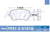 FRITEC SHD-7921-Z-D1018
