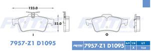 FRITEC SPC-7957-Z1-D1095