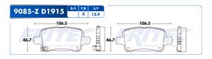 FRITEC SPC-9085-Z-D1915
