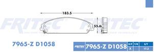 FRITEC SPC-7965-Z-D1058