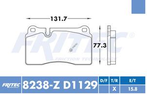 FRITEC SPC-8238-Z-D1129