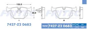 FRITEC SPC-7427-Z2-D683