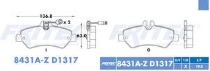 FRITEC SHD-8431A-Z-D1317