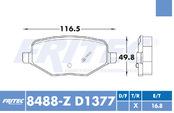 FRITEC SPC-8488-Z-D1377