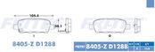 FRITEC SPC-8405-Z-D1288