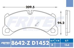 FRITEC SHD-8642-Z-D1452