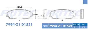 FRITEC SPC-7994-Z1-D1521