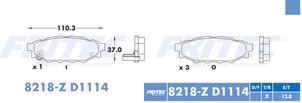 FRITEC SPC-8218-Z-D1114