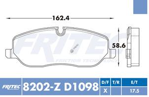 FRITEC SPC-8202-Z-D1098
