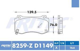 FRITEC SPC-8259-Z-D1149
