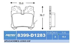 FRITEC SPC-8399-Z-D1283