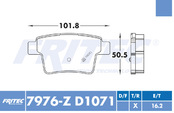 FRITEC SPC-7976-Z-D1071