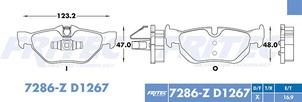 FRITEC SPC-7286-Z3-D1267