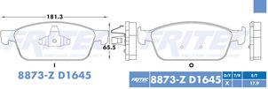 FRITEC SPC-8873-Z-D1645