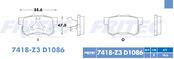 FRITEC SPC-7418-Z3-D1086