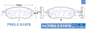 FRITEC SPC-7983-Z-D1078
