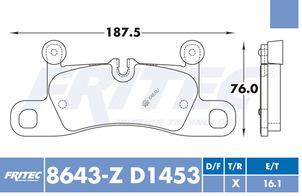 FRITEC SPC-8643-Z-D1453