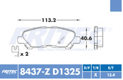FRITEC SPC-8437-Z-D1325