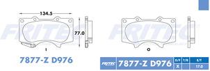 FRITEC SPC-7877-Z-D976