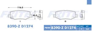 FRITEC SPC-8390-Z-D1274