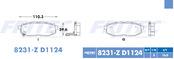 FRITEC SPC-8231-Z-D1124