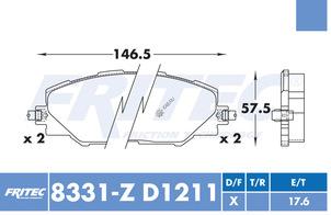 FRITEC SPC-8331-Z-D1211