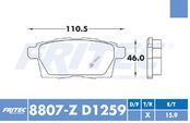 FRITEC SPC-8807-Z-D1259