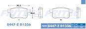 FRITEC SPC-8447-Z-D1336