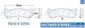 FRITEC SHD-7653-Z-D785
