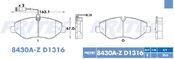 FRITEC SHD-8430A-Z-D1316
