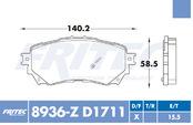 FRITEC SPC-8936-Z-D1711