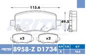 FRITEC SPC-8958-Z-D1734