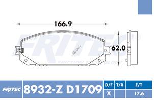 FRITEC SPC-8932-Z-D1709