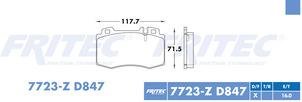 FRITEC SPC-7723-Z-D847