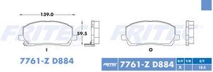FRITEC SPC-7760-Z-D883