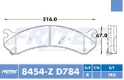 FRITEC SPC-8454-Z-D784