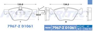FRITEC SPC-7967-Z-D1061