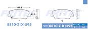 FRITEC SPC-8810-Z-D1595