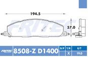 FRITEC SHD-8508-Z-D1400