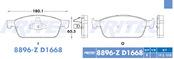 FRITEC SPC-8896-Z-D1668
