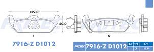 FRITEC SHD-7916-Z-D1012